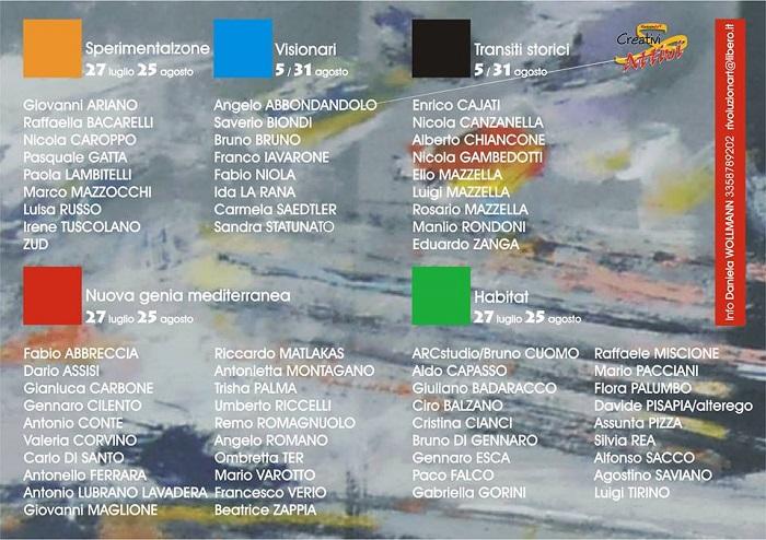 Artisti al Napoli Expò Art POLIS