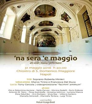 Chiostro di San Domenico Maggiore - Na sera e maggio