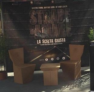 Stand Strade da Amare al Social World Film Festival