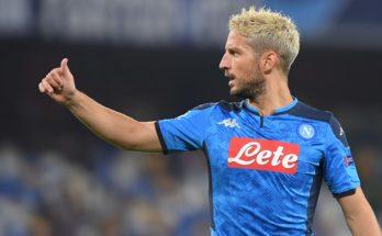 Napoli- Fiorentina: Mertens ai box per entrare a partita in corso
