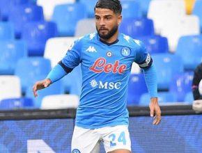 Lorenzo Insigne in campo dal 1' contro il Benevento