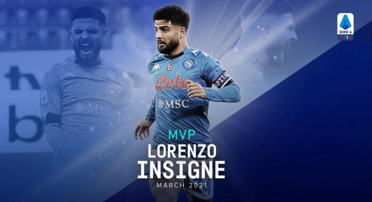 MPV di Marzo per la Serie A: Lorenzo Insigne