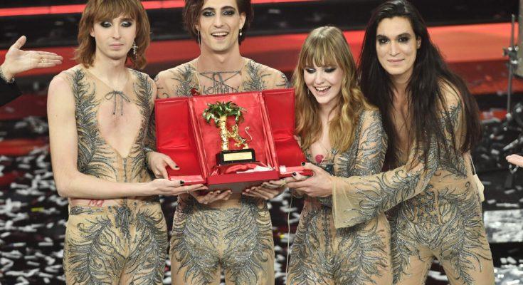I Maneskin riportano il rock a Sanremo, i vincitori sono loro