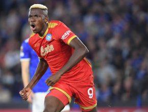 Leicester- Napoli: un pareggio nel segno di Victor Osimhen