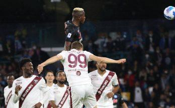 Napoli- Torino: la zuccata di Osimhen vale i tre punti e il sorpasso sul Milan